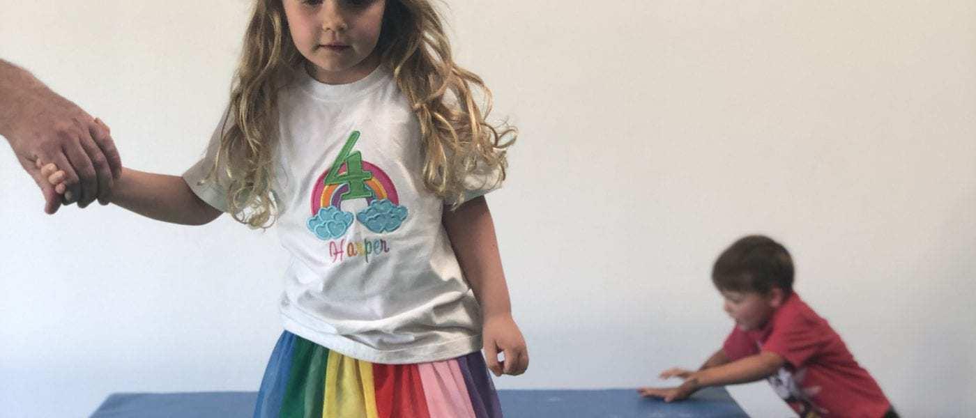Harper's Dye-Free Rainbow Birthday Party