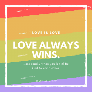 Love always wins quote