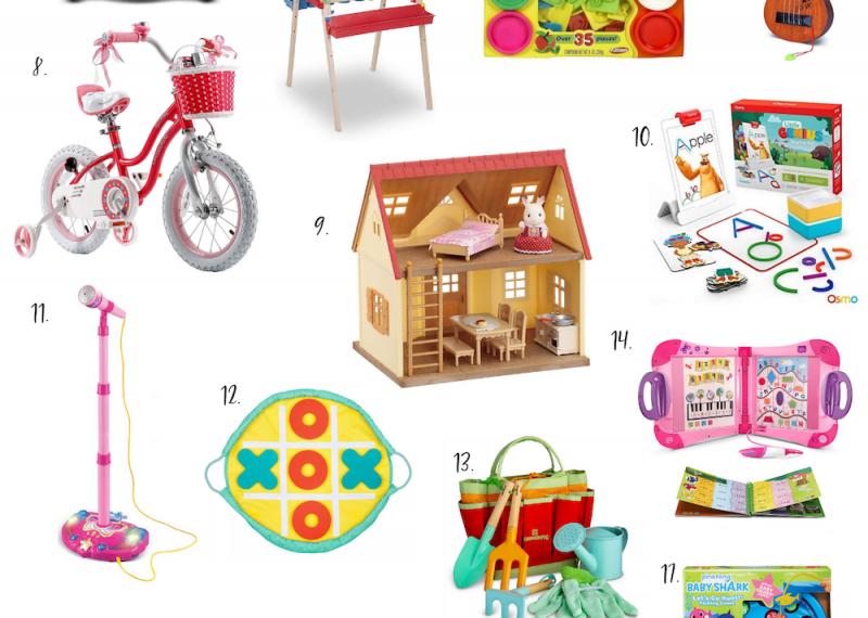 Gift Guide: Preschool Girl (3 – 5 years old)
