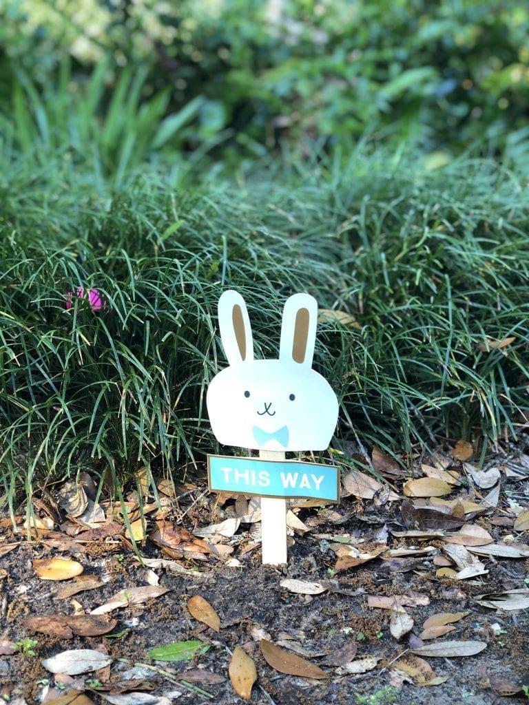 Sign for Easter Egg Hunt