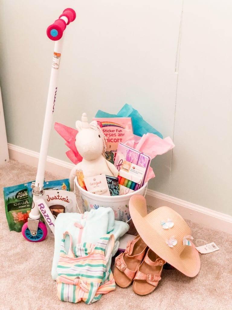 Easter Basket Ideas for Preschoolers   Life With Ashley T