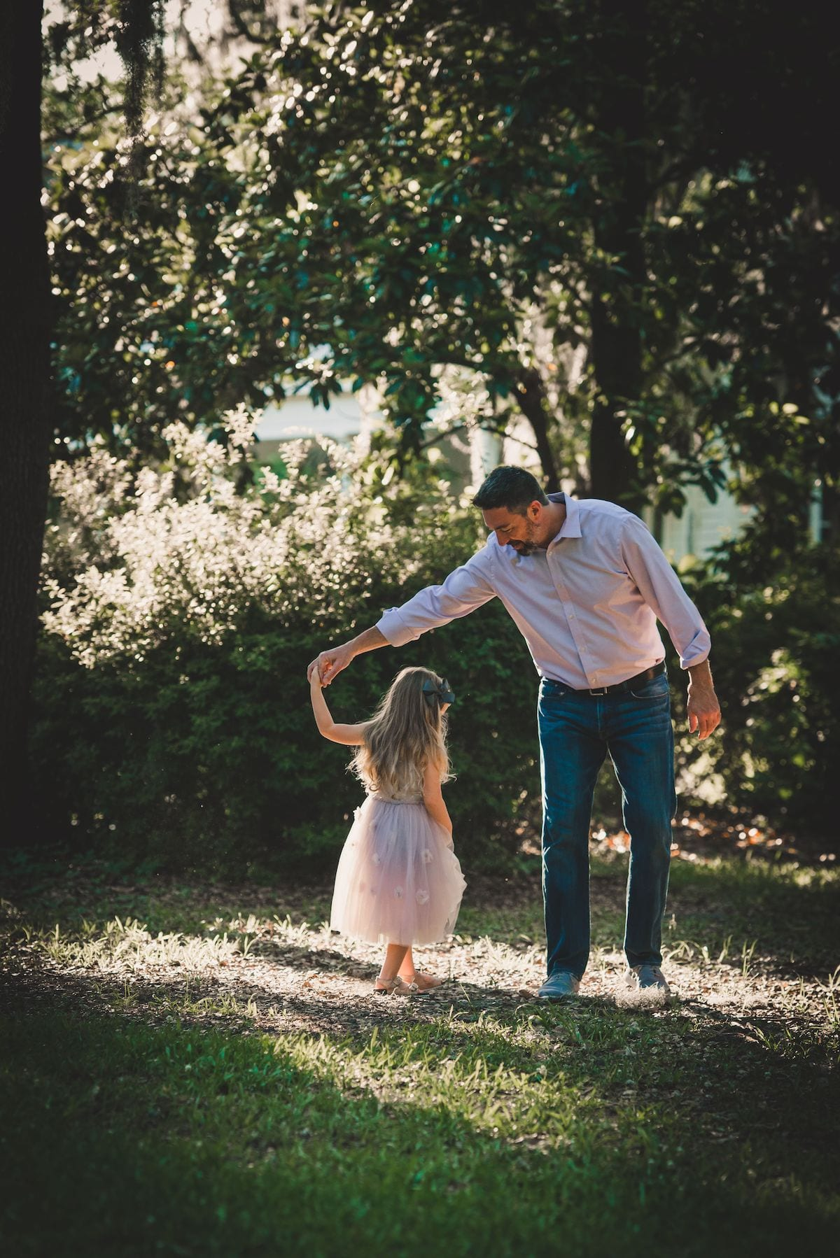 Daddy daughter dancing